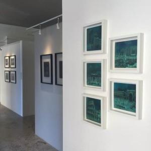 Transvision esposti presso Galleria d'arte Tiziana Severi arte contemporanea