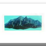 Transvision20 - Stampa e acrilico su acetato - cm 8x21 - 2015