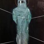Sebastiano con involucro – 2015 – olio su tela – cm 52×34