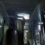 Dimetoate - olio su tela 70x90 - 2012