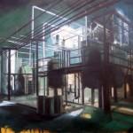 Giavotox GR - olio su tela cm 50x60 - 2011