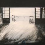 Ricordi industriali - 2006 - acrilico su tela - 70x50 cm