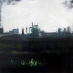 Chimiren1 - olio e acrilico su tela - cm 50x50 - 2014