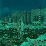 Transvision4 - Stampa e acrilico su acetato - cm 23x21 - 2014